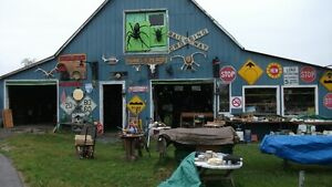 "Porkie""s Place Barn Sale 1540 Hwy 62 in PEC"