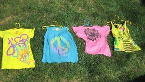 Vêtements pour filles grandeur 6-8 et 8-10 ans.