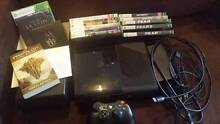 Xbox 360E 250GB with 11 games and HDMI cord Parkside Unley Area Preview