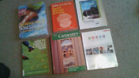 Text Books & Books for SALE (90$ for all)