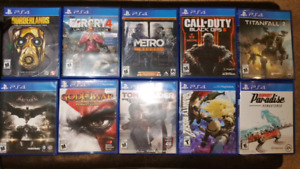 PS4 Games. Combine 3 for 40, 4 for 50, 5 for 60. All for 120