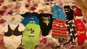 Short /long sleeve oneies and vests