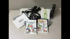 Console jeux WII