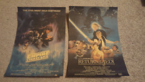 Star Wars posters $10/ea. or both for $15
