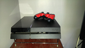 Ps4 system and games