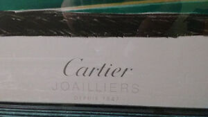 Cartier Joailliers depuis 1847 Framed Advertisement Poster North Shore Greater Vancouver Area image 2