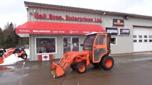 2008 B2620HSD Kubota Tractor with Heated Cab & Loader