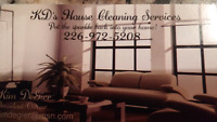K.D's House Cleaning Services-SEE PRICES BELOW