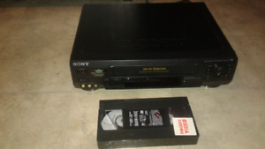 Sony VCR for vhs movies mint condition