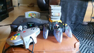 N64 of original controllers and a bunch of games $250 O.B.O