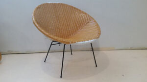 Iconic mid century woven chair