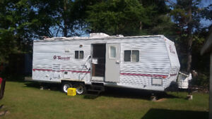 27 foot Terry travel trailer