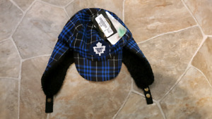 Brand New - Toronto Maple Leafs Toddler Trooper Hat
