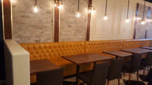 RESTAURANT BOOTHS AND BANQUETTES