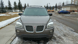 2005 Pontiac Montana Mini van Reliable vehicle and good Gas