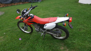 2011 honda crf 230L street and trail