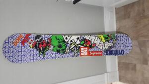 156cm Solomon salvador snowboard