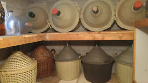 Wine Juice Jugs/Vats/DemiJohns/Carboys/Damigians