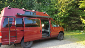 2001 Ford Econoline adventure Camper van