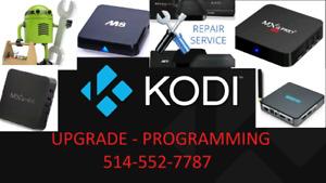 KODI ★ TV BOX PROGRAMMING / SETUP / UPDATE ★ MOVIES - LIVE TV