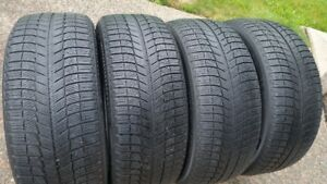 SET OF MICHELIN X ICE 225/50R/18 TIRES- LOTS OF TREAD