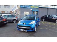 Peugeot 107 Urban 1.0 (blue) 2012