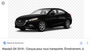 PRIME OFFERTE - Mazda3 GX 2018 transfer location