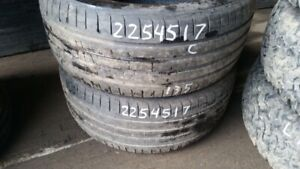 Pair of 2 Goodyear Eagle F1 225/45R17 tires (60% tread life)
