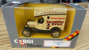 CORGI Ford Model T Van  die cast  mint condition in the box