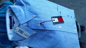 Tommy Hilfiger brand new with tags men's cotton shirt