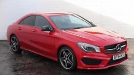 2014 Mercedes-Benz CLA 2014 14 Mercedes CLA 2.1 CDI CLA 220 AMG Sport Diesel red