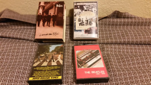 Beatles audio cassette tapes