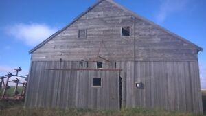 100 Year Old Barn Available for Deconstruction and Wood Recovery Regina Regina Area image 2
