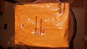 Rain coat and pants / flame resistant