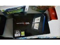 Boxed Nintendo 2ds as new 9 games Inc latest animal crossing