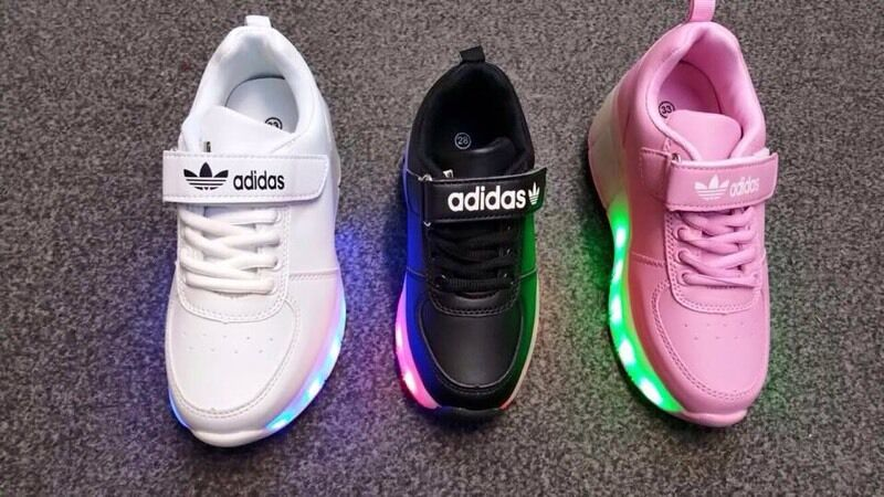 separation shoes 69d37 52b58 ... shop kids adidas light up trainers wholesale 2baa8 0ed67 ...