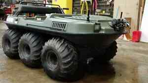 03 argo bigfoot 6x6 for sale or trade.