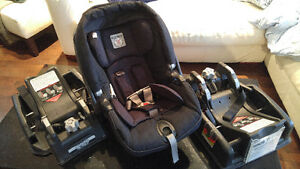 Attention thrifty mamas- Peg Perego Infant car seat w/ 2 bases