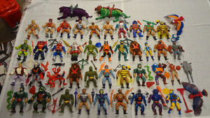 Huge Vintage MOTU He-Man Collection for Sale! Snake Mountain!