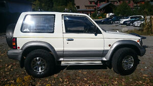 1993 Mitsubishi Other Super select SUV, Crossover