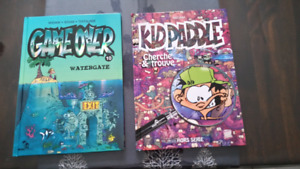 Bd Kid Paddle et Game Over