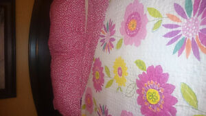 Like New Reverse Coverlet Set And Grommet Curtains St. John's Newfoundland image 2