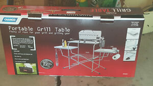 Portable Grill Table...NEW