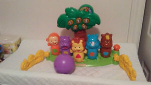 vtech animal bowling game