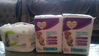 Over 100 diapers for only 10$/ plus de 100 couches pour 10$