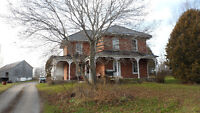 1908 old victorian house and 87 acres