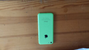 iPhone 5 lime green...perfect condition