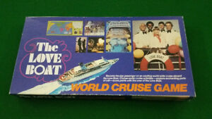 Vintage 1980 The Love Boat Board Game
