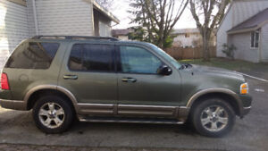 2004 Ford Explorer Eddie Bauer, Fully equipped