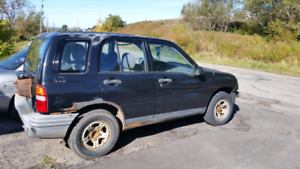 Parting out 2003 standard chev tracker